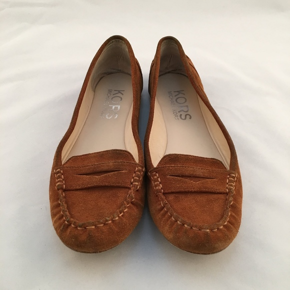 fd267206d33 KORS Michael Kors Shoes - KORS Michael Kors Suede Penny Loafers Size 8M